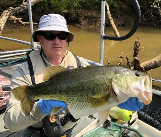 bass lmb piscivory Damer Etowah Apr 2018 pic2small