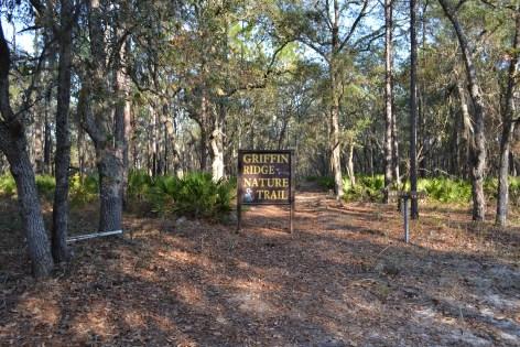 Griffin Ridge WMA_nature trail sign 2_Mishay Allen_DNR