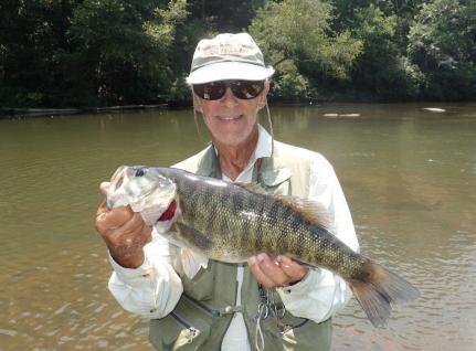 Shoal Bass Chattahoochee River 8-6