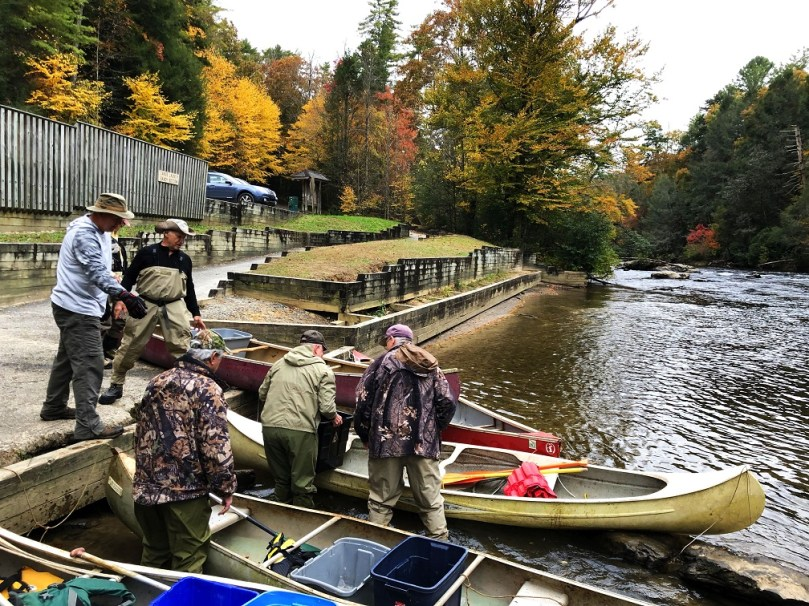 Stocking the Toccoa River Delayed Harvest Portion