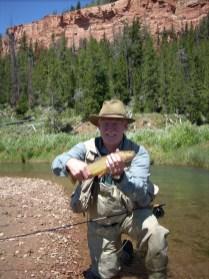 trout cutt Ski WY stream 3 2008