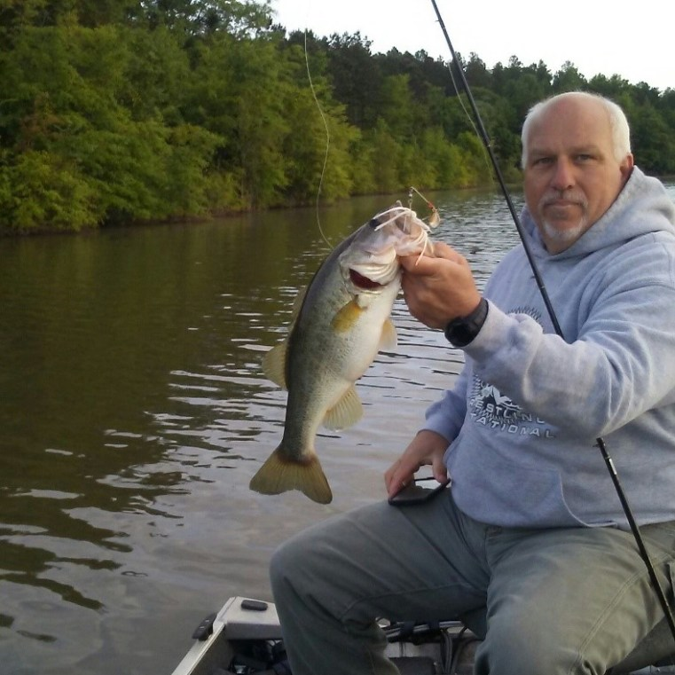 Tim Higsdon caught this Largemouth at Flat Creek PFA