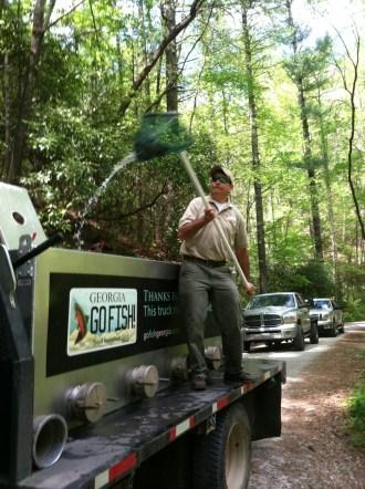 NGA trout stocking