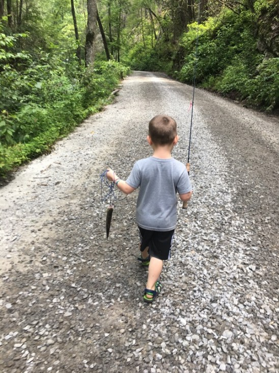 Trout Fishing Success on Tallulah River
