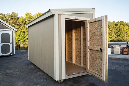 ... Was Designed To Be The Perfect Fit For Small Spaces Outside Your Urban  Or Suburban Home. Our Innovative Design Allows This Handy Storage Building  To Be ...