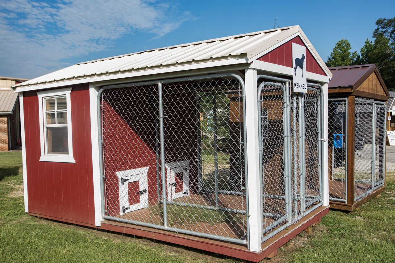 Buy Best Outdoor Wooden Dog Kennels Georgia Yard Barns