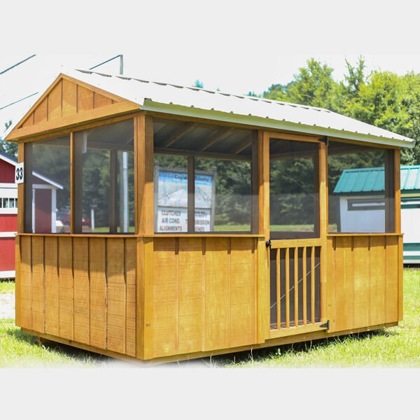 Shop Shed Roof With Screened Porch At Best Price