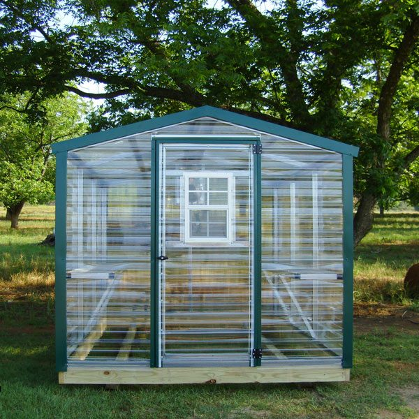 Small greenhouses for backyard