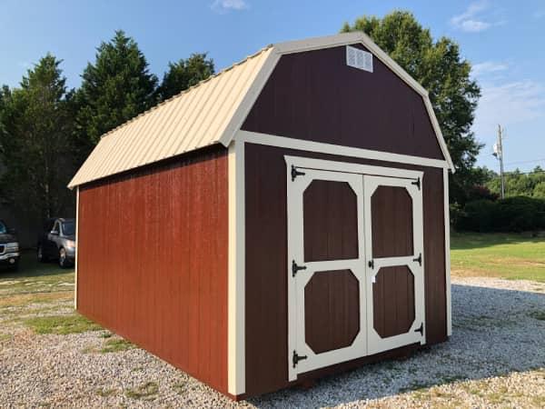 Side Lofted Barn Cabin Interior Sheds For Sale