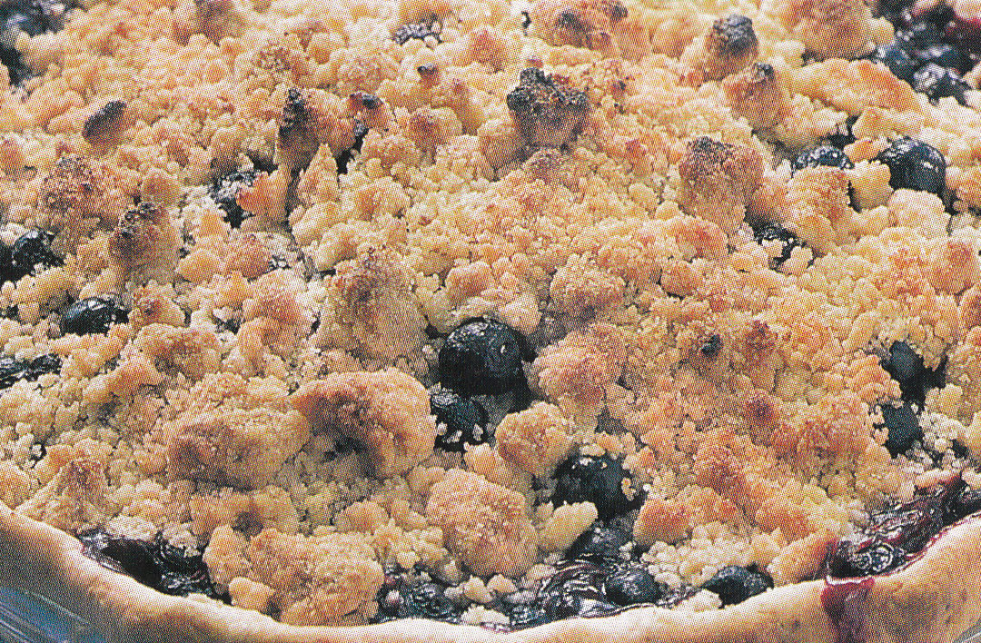 Bluberry Cupcake Pie
