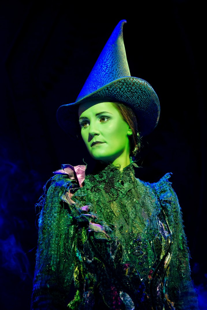 Wicked UK & Ireland Tour. Nikki Davis-Jones as Elphaba.
