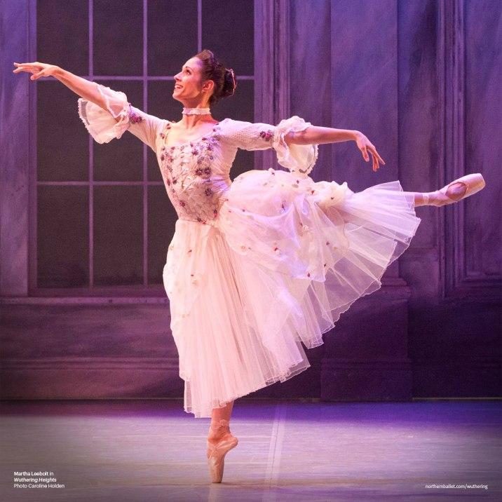 Northern Ballet dancer Martha Leebolt as Cathy in Claude-Michel Schönberg's 'Wuthering Heights' (Photo by Caroline Holden)