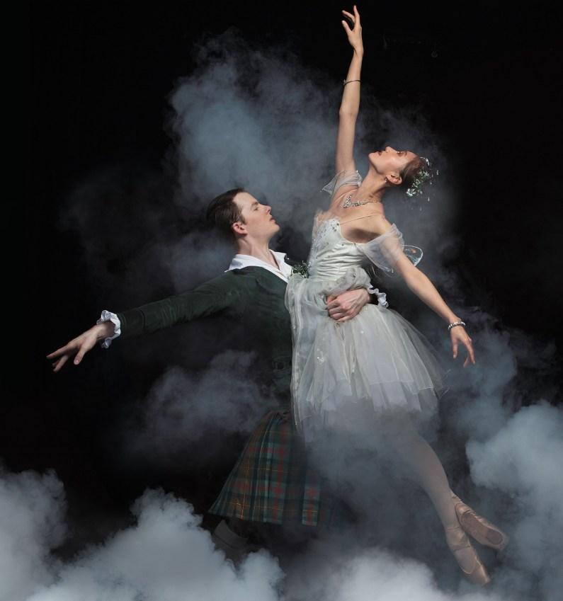 Queensland Ballet's 'La Sylphide'. Photo by Georges Antoni.
