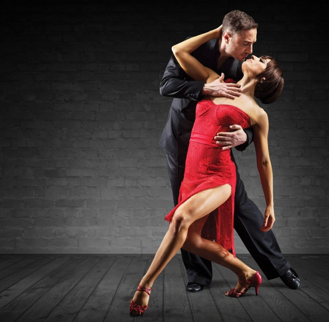 The Last Tango. Vincent Simone and Flavia Cacace in 'The Last Tango'.