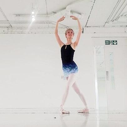 Georgina Butler in the studio 5