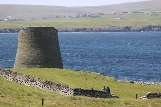 Mousa broch and the sound