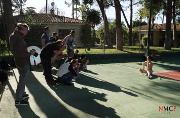 Sesión WORSHOP exterior pista de Tenis - Georgy Chernyadyev con los fotógrafos participantes