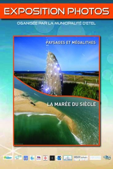 """""""La Marée du Siècle"""" Exposition photos sur le port d'Etel ( été 2015)"""