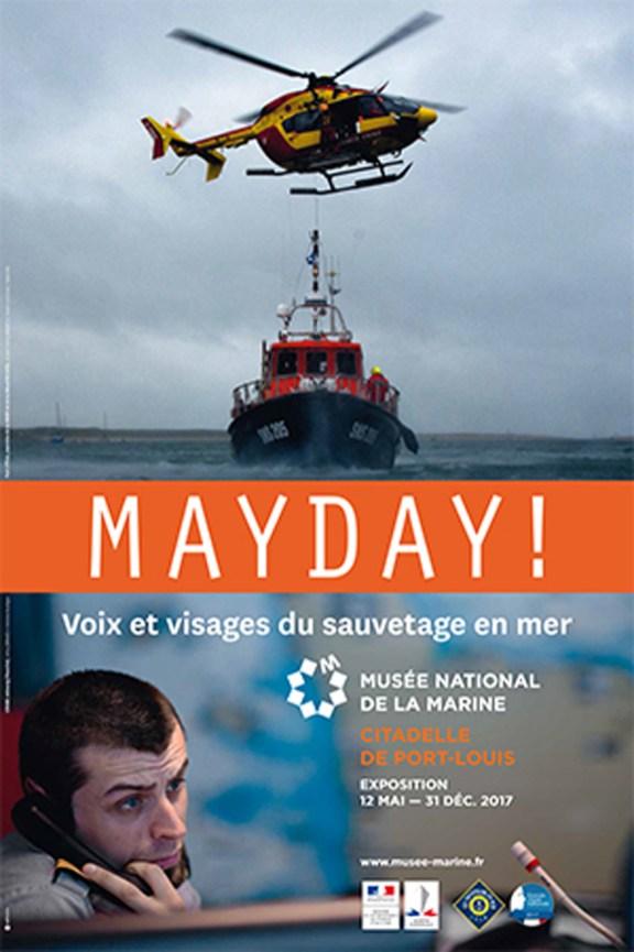 """""""May Day ! Voix et visages du sauvetage en mer"""" Exposition photos au Musée National de la Marine - Citadelle de Port-Louis, mai à décembre 2017"""