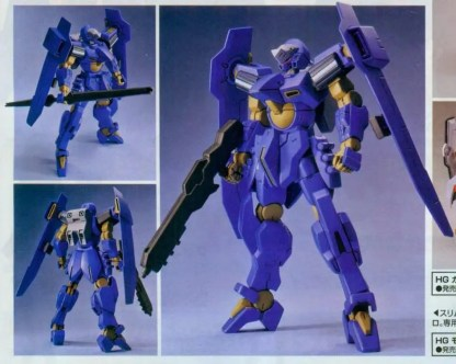 HG RECONGUISTA IN G 1/144 MONTERO - Nº 03