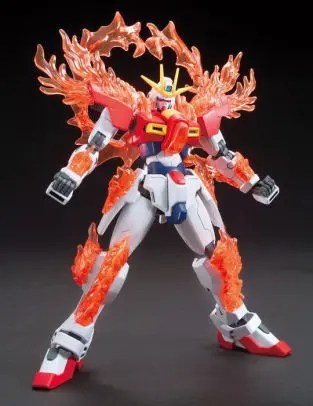 HGBF 1/144 TRY BURNING GUNDAM - Nº 028