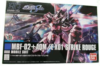 HGCE 1/144 MBF-02+AQM/E-X01 STRIKE ROUGE - Nº 176