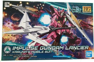 HGBD 1/144 IMPULSE GUNDAM LANCIER - Nº 018