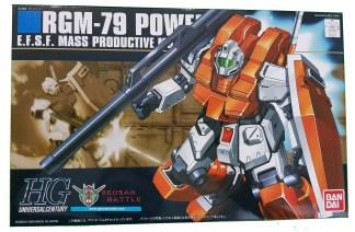 HGUC 1/144 RGM-79 POWERED GM - Nº 067