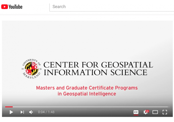 geoint youtube