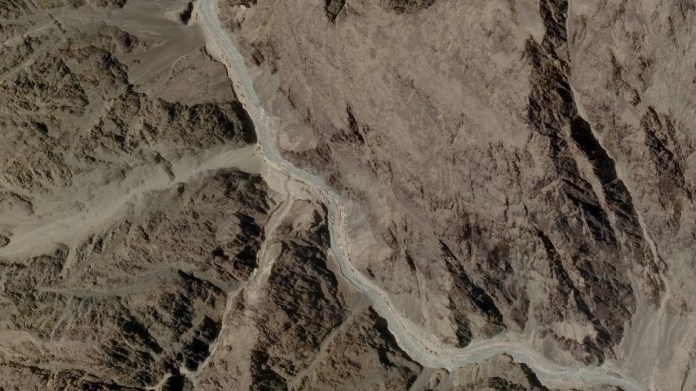 Satellite images show Chinese build-up at Galwan Valley