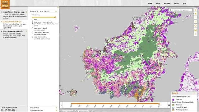 Global Forest Watch Commodities—Geospatial Tools to Help Reduce Greenhouse Gas Emissions from Land-Use Change