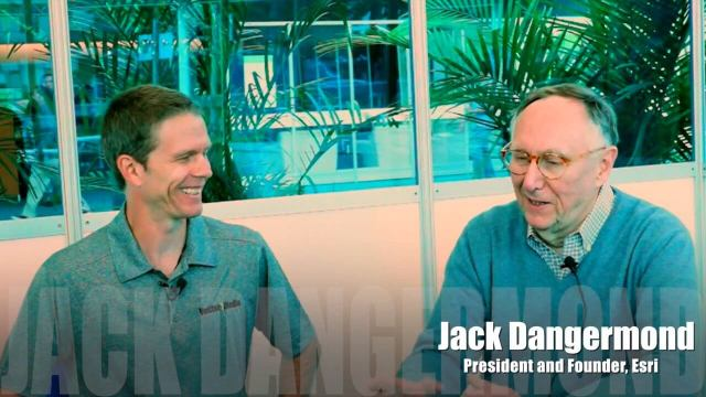 "Jack Dangermond Discusses User Conference Highlights, GIS ""Critical Mass"" (1 of 4)"