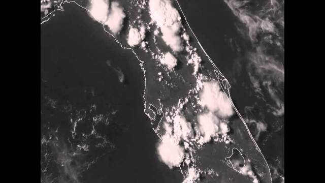 GOES-14 VIS Imagery over Florida