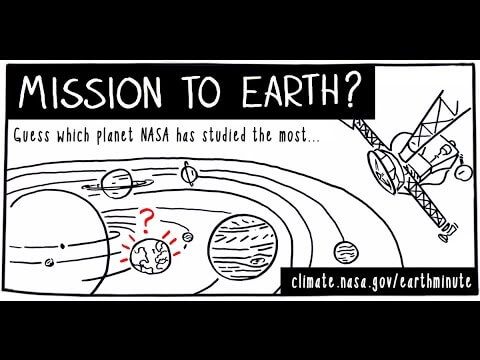 NASA's Earth Minute: Mission to Earth?