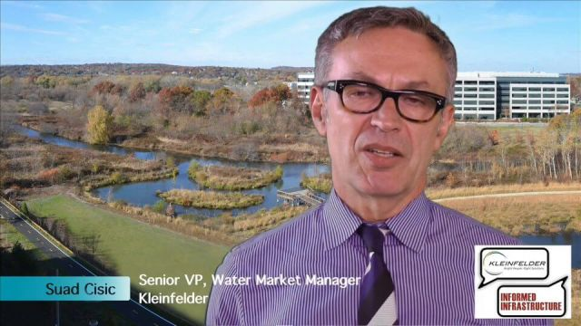Kleinfelder Interview – Suad Cisic, Senior VP, Water Market Manager