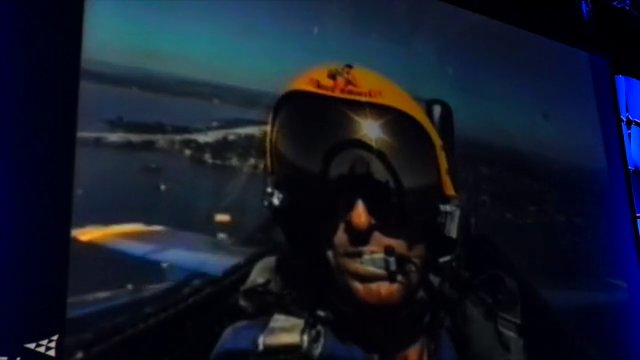 Blue Angels Pilot Delivers Dimensions Keynote (1 of 3)