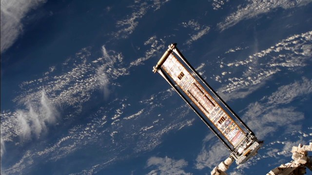 ROSA Deploys on International Space Station