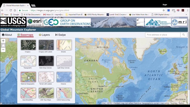 Global Mountain Explorer Video Tutorial