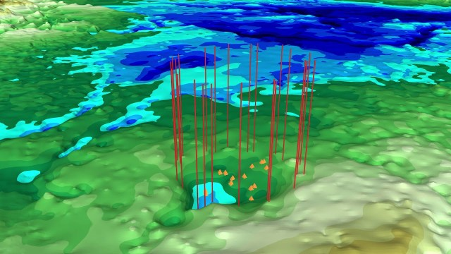 NASA Finds Second Massive Greenland Crater