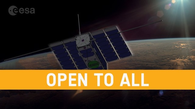OPS-SAT: ESA's Flying Lab, Open to All