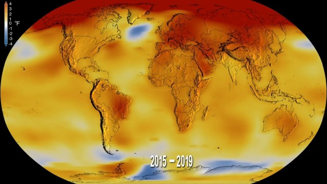 2019 Was the Second-Hottest Year on Record
