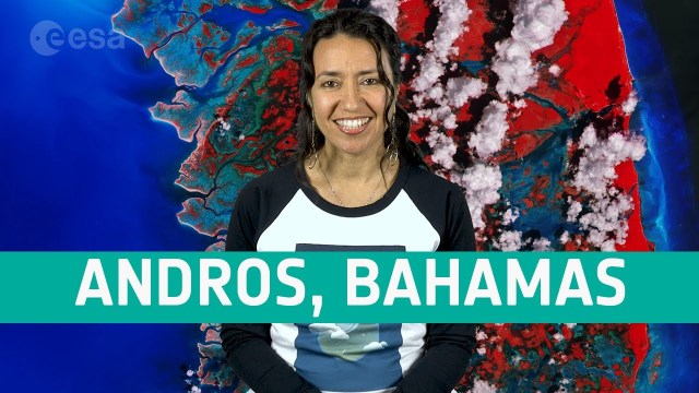 Earth from Space: Andros, Bahamas