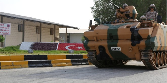 Is Turkey preparing to replace US military base in Qatar?