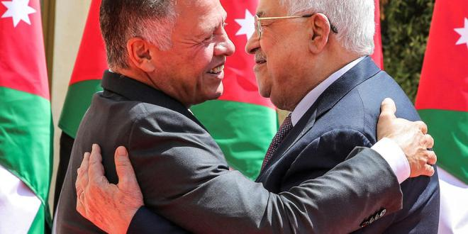 Why Jordan supports the two-state solution?