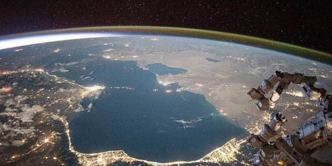 How the Caspian Sea joins the Black Sea