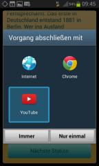 Linkeinbindung - Youtube