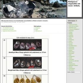 Mineralienfachhandel