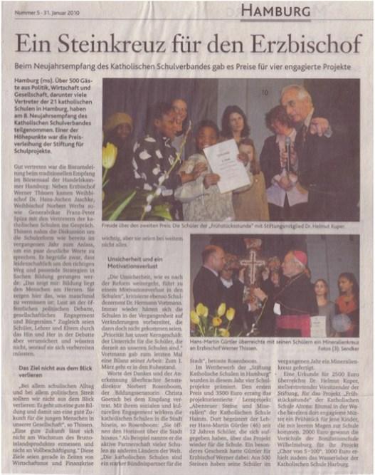 Neue Kirchenzeitung 31.01.2010