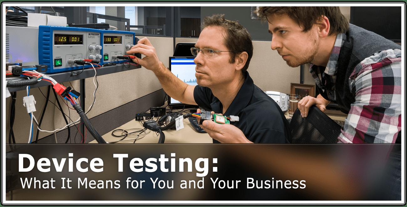 GEOTAB Device Testing