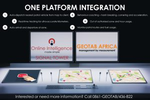 GEOTAB AFRICA and SIGNAL TOWER now fully integrated